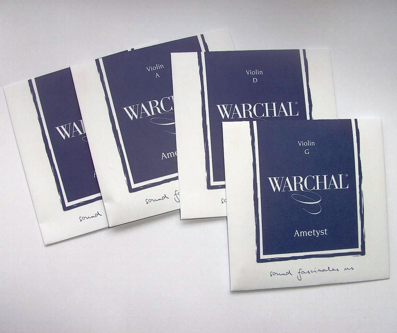 Warchal Ametyst Violin String Set 3//4 E Ball  End