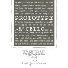 Warchal Prototype Cello A